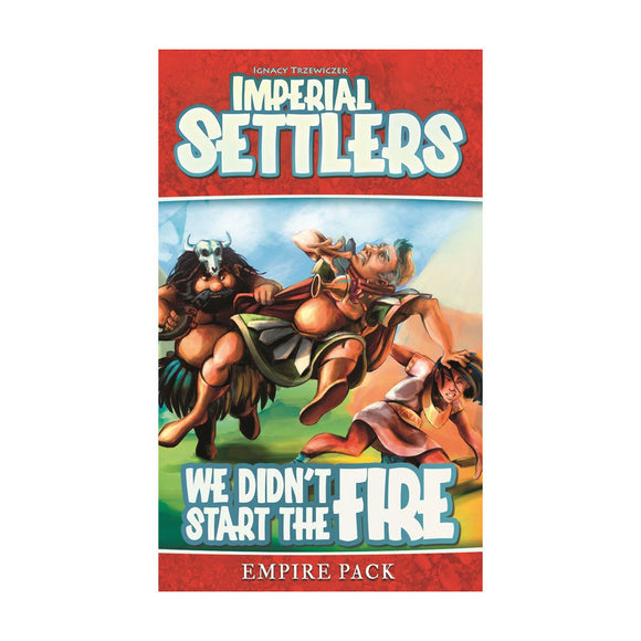 Imperial Settlers: We Didn't Start the Fire Expansion - Front