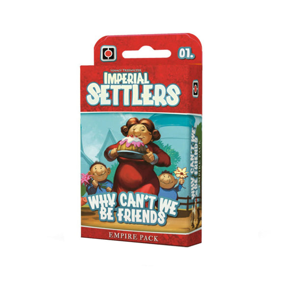 Imperial Settlers: Why Can't We Be Friends Expansion - Front
