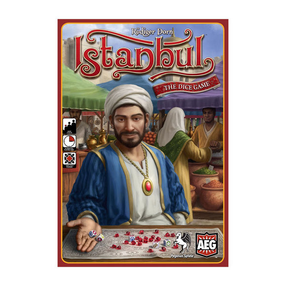 Istanbul: The Dice Game - Front