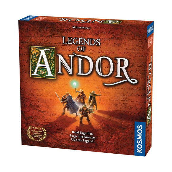 Legends of Andor - Front