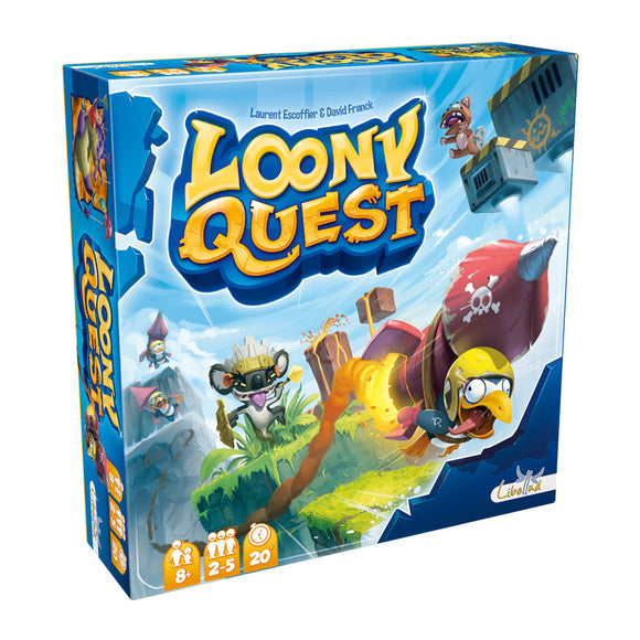 Loony Quest - Front