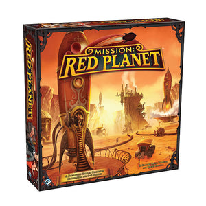 Mission: Red Planet - Front