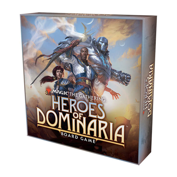MtG: Heroes of Dominaria Board Game - Front