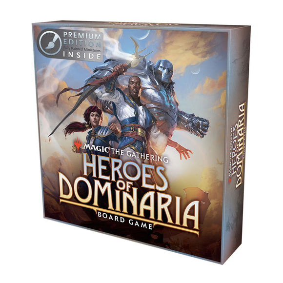 MtG: Heroes of Dominaria Board Game Premium Edition - Front