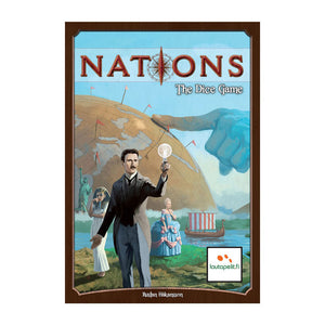Nations: The Dice Game - Front