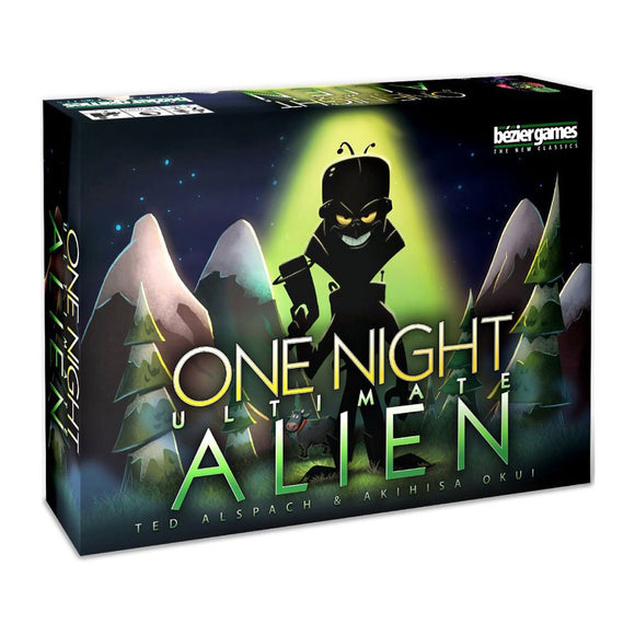 One Night Ultimate Alien - Front