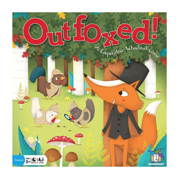 Outfoxed - Front