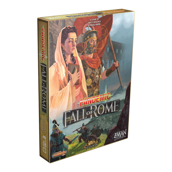 Pandemic: The Fall of Rome - Front