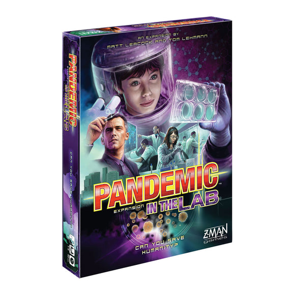 Pandemic: In The Lab Expansion - Front