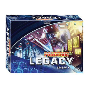 Pandemic: Legacy Season 1 - Blue - Front