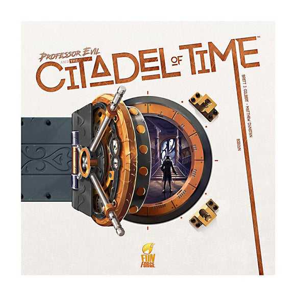 Professor Evil and the Citadel of Time - Front