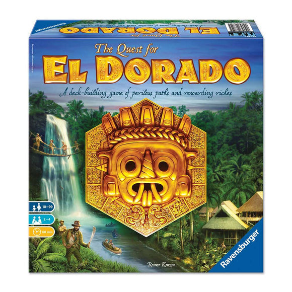 The Quest for El Dorado - Front