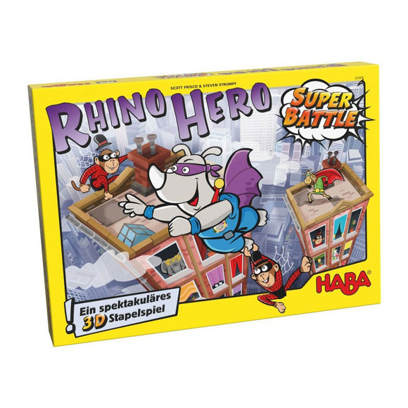 Rhino Hero: Super Battle - Front