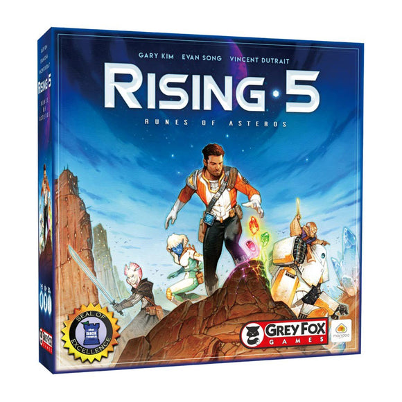 Rising 5: Runes of Asteros - Front