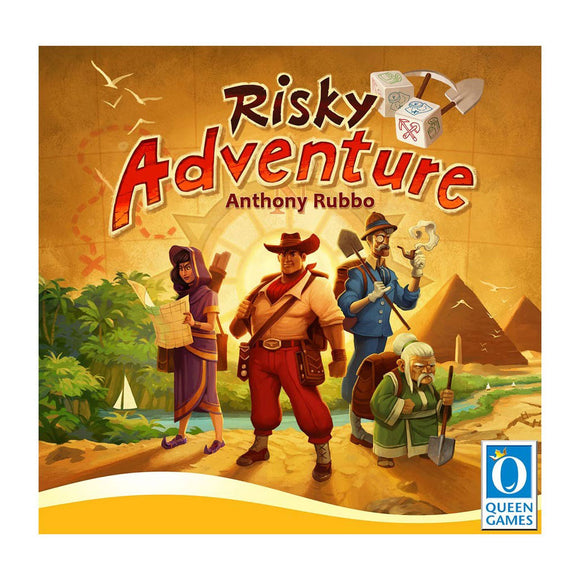Risky Adventure - Front