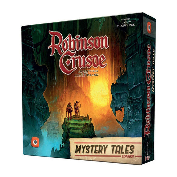 Robinson Crusoe: Mystery Tales Expansion - Front