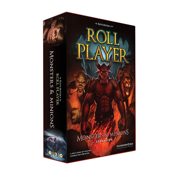 Roll Player: Monsters & Minions Expansion - Front