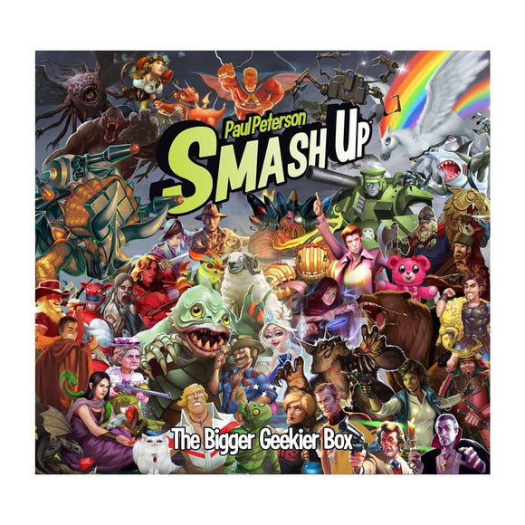 Smash Up: The Bigger Geekier Box - Front
