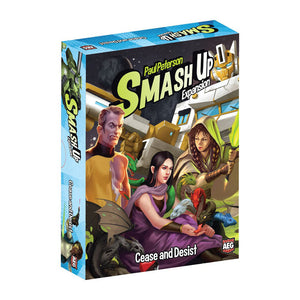 Smash Up: Cease and Desist Expansion - Front