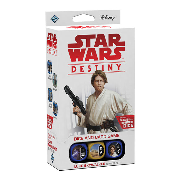 Star Wars Destiny: Luke Skywalker Starter Set - Front