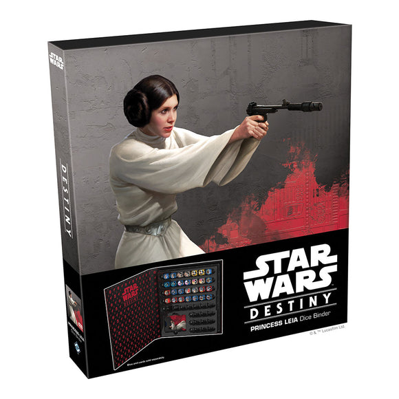 Star Wars Destiny: Princess Leia Dice Binder - Front
