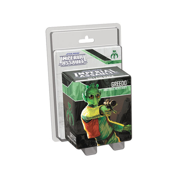 Star Wars Imperial Assault: Greedo Villain Pack - Front
