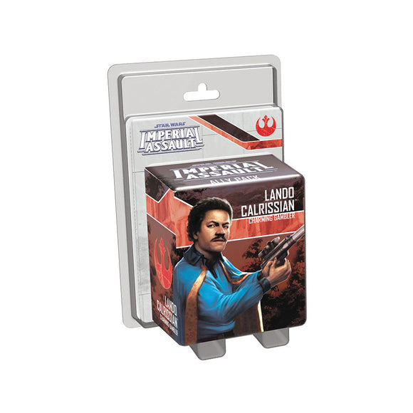 Star Wars Imperial Assault: Lando Calrissian Ally Pack - Front