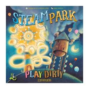 Steam Park: Play Dirty Expansion - Front