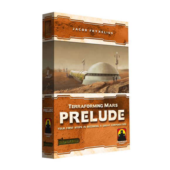Terraforming Mars: Prelude Expansion - Front