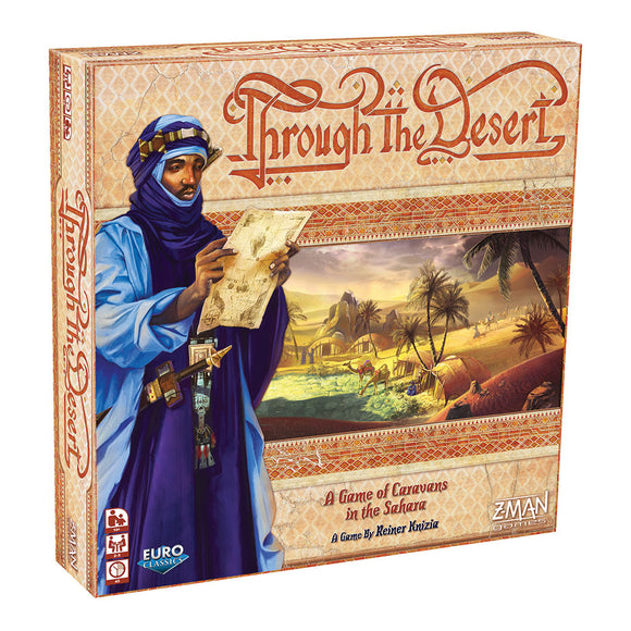 Through the Desert - Front