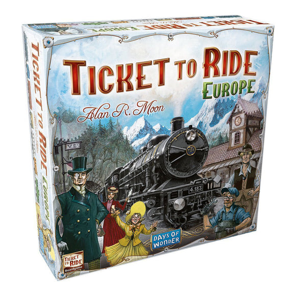 Ticket To Ride: Europe - Front