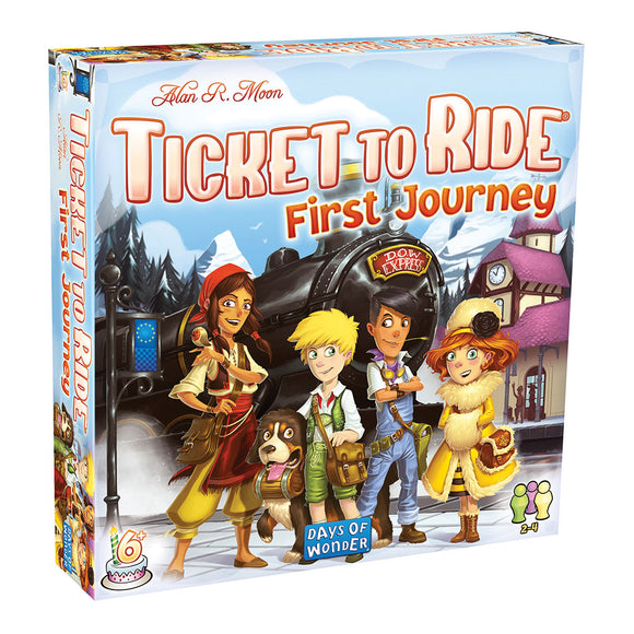 Ticket to Ride: First Journey (Europe) - Front