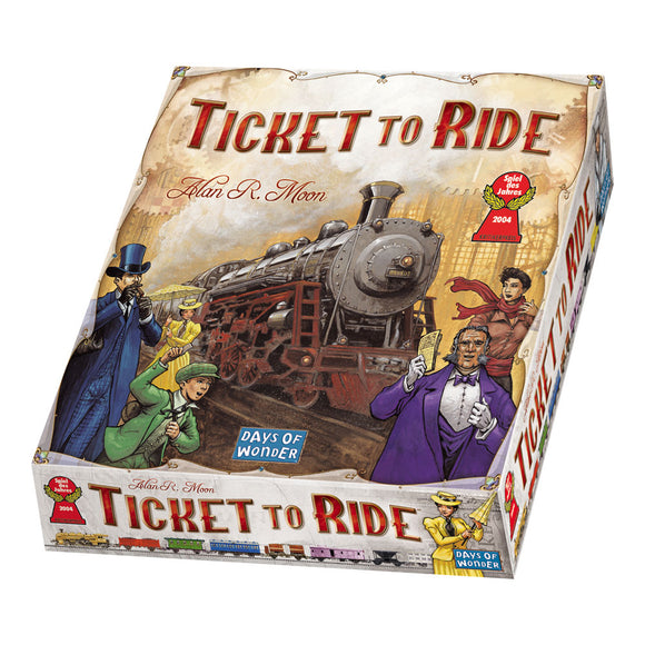 Ticket to Ride - Front