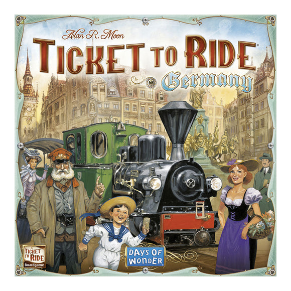 Ticket to Ride: Germany - Front