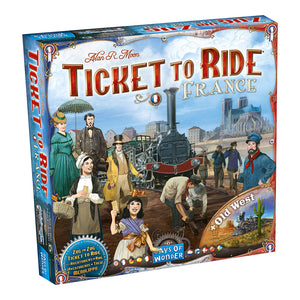 Ticket To Ride: Map Collection V6 - France & Old West - Front