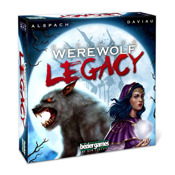 Ultimate Werewolf Legacy - Front