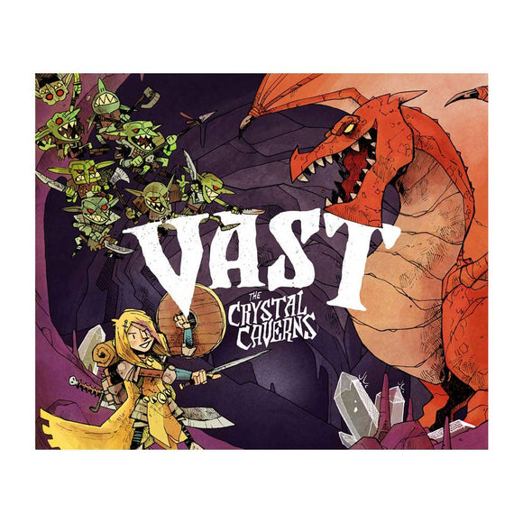 Vast: The Crystal Caverns - Front