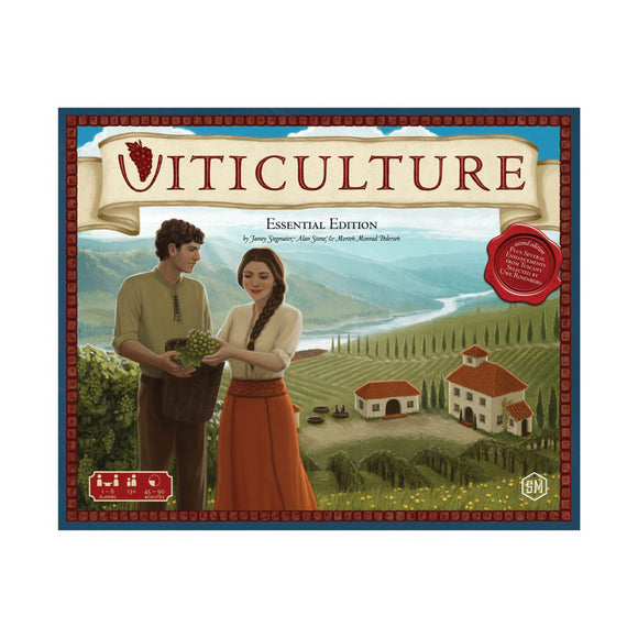 Viticulture: Essential Edition - Front