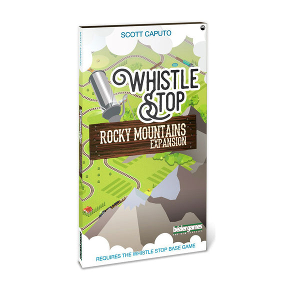 Whistle Stop: Rocky Mountains Expansion - Front