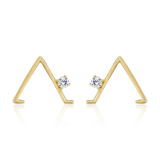 Triangle Pose Earring