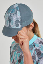 Sun Cap (Feather Print)