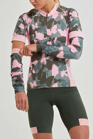 Shield Sleeves Arm Warmers (Butterfly Camo Print)