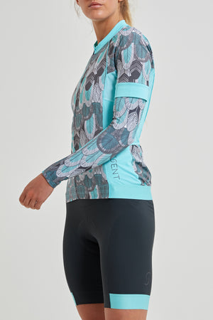 Shield Sleeves Arm Warmers (Feather Print)