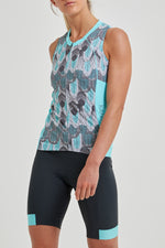Tempo Sleeveless Jersey (Feather Print)