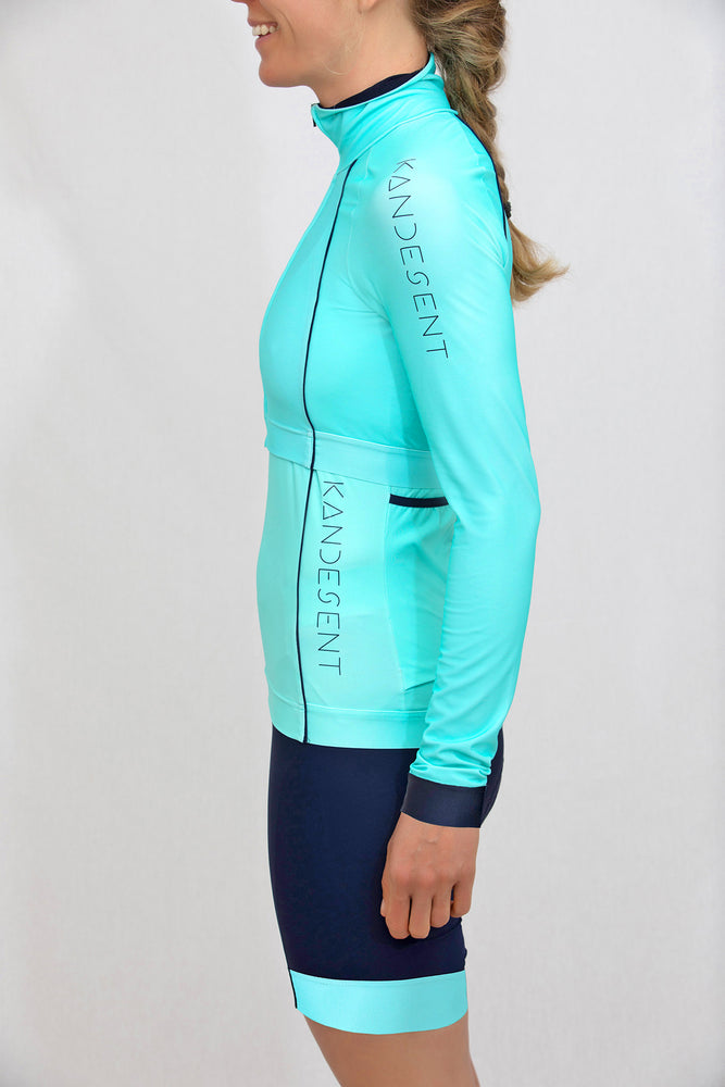 Stealth Midi Cropped Jacket (Mint)