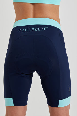 All Day Short (Navy Mint)