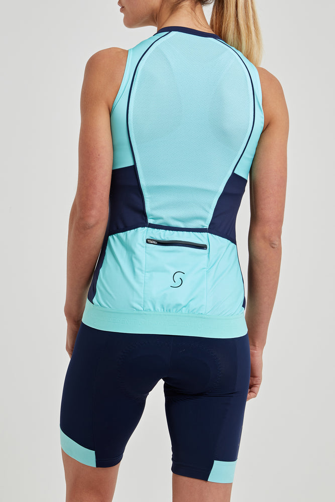 Tempo Sleeveless Jersey (Mint)