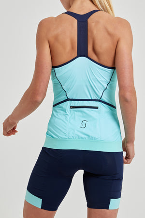 Power T-Back Tank Top (Mint)