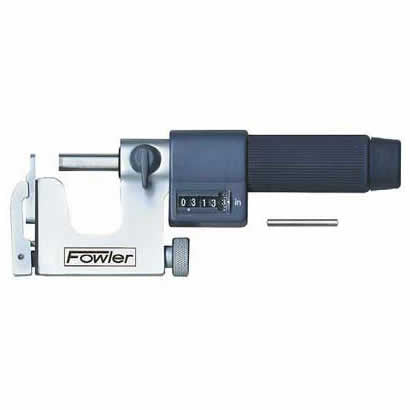 Fowler EZ  Read Micrometers - 1 - 2 Inch - .0001 Inch - Inch - Multi  Anvil - Friction