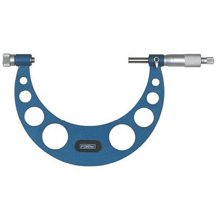 Fowler Standard Micrometers - 0 - 150mm - Metric - .01mm - Interchangeable Anvil